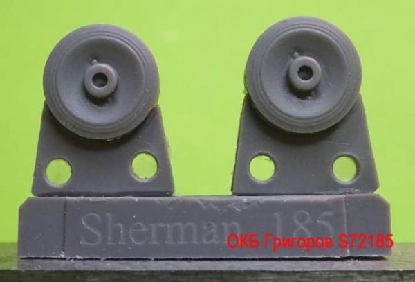 OKBS72185 Катки для семейства танков M4            Wheels for M4 family, VVSS smooth concave (thumb8743)
