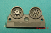 OKBS72192 Катки для танка Т-72 ранние              Wheels for T-72, early (attach1 8757)