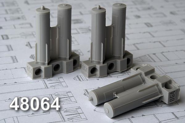 АМС 48064   CАБ-100МН осветительная  авиабомба калибра 100 кг (в комплекте шесть бомб). (thumb10311)