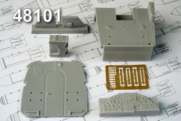 АМС 48101   Кабина самолета Ан-2 (thumb10339)