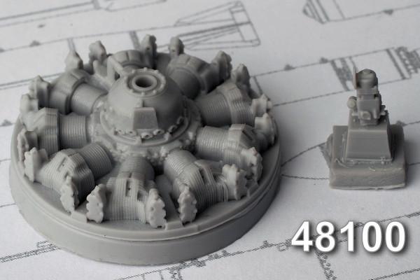 АМС 48100   АШ-62 ИР авиационный двигатель (thumb10337)