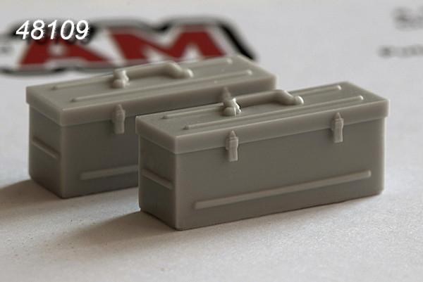 АМС 48109   Инструментальный ящик (в комплекте два ящика) (thumb10353)
