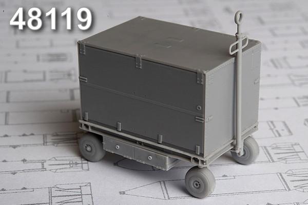 АМС 48119   СК-24 контейнер с оборудование для тестирования самолетного РЭО и оборудования РЭБ (thumb10362)