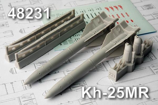 AMC 48231   Х-25МР Авиационная управляемая ракета с пусковой АПУ-68УМ2 (thumb10335)