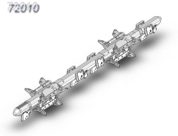 АМС 72010   МБД3-У6-68, многозамковый балочный держатель (в комплекте два балочных держателя) (thumb10366)