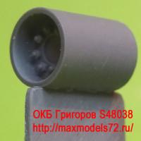 OKBS48038   Ведущее колесо — звездочка для семейства танков M4  HVSS D47366 (6 шт в наборе)           Sprockets for M4 family, HVSS D47366 economy (6 per set) (attach1 8393)