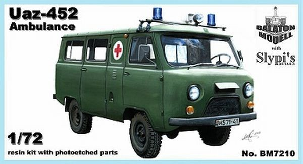 BM7210   УАЗ-452 медицинский      Uaz-452 ambulance (thumb8814)