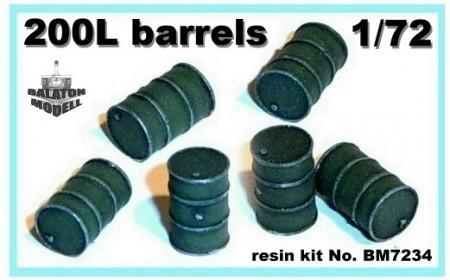BM7234   Бочки 200 литров (6штук)        200L barrels (x6) (thumb8875)