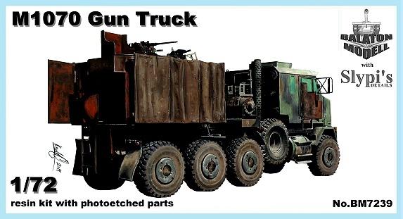 BM7239   M1070 военный грузовик           M1070 Gun Truck (thumb8899)
