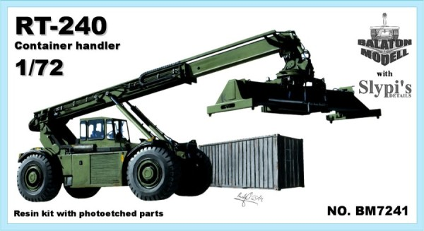 BM7241   Kalmar RT-240 погрузчик контейнеров       Kalmar RT-240 container handler (thumb8914)