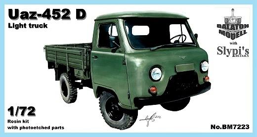 BM7223   УАЗ-452 Д легкий грузовой автомобиль     Uaz-452 D light truck (thumb8850)