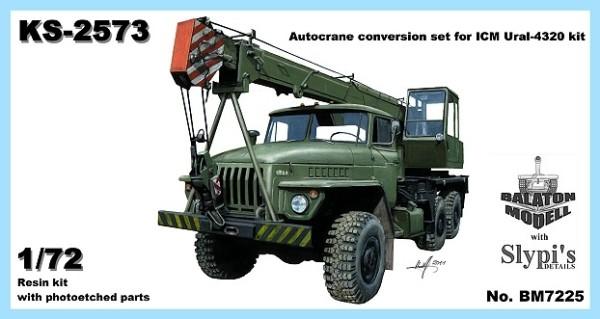 BM7225   Конверсионный набор кран для УРАЛ-43203       Ural-43203/KS-2573 autocrane conv. (thumb8859)