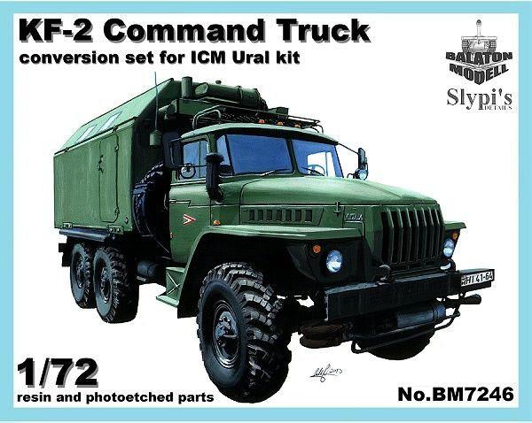 BM7246   Конверсионный набор KF-2 (командный пункт) для модели УРАЛ-375/4320         KF-2 shelter for Ural-375/4320 kit (thumb8930)