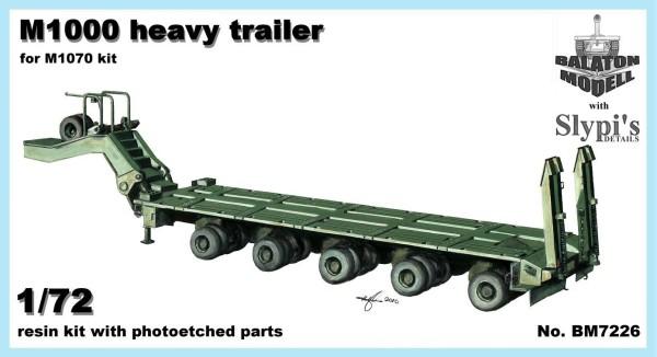 BM7226   M1000 трейлер для тяжелого танкового транспортера      M1000 trailer (for HET) (thumb8865)