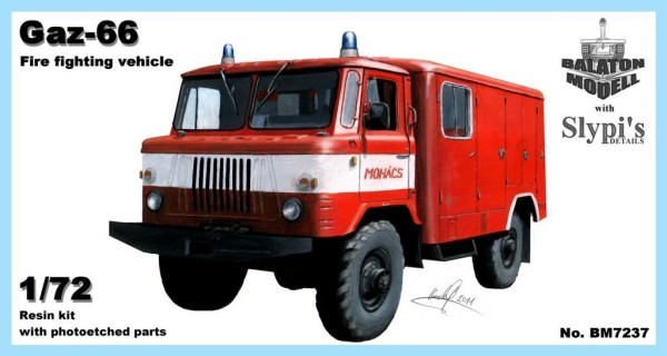 BM7237   ГАЗ-66 пожарная машина         Gaz-66 fire fighting vehicle (thumb8889)