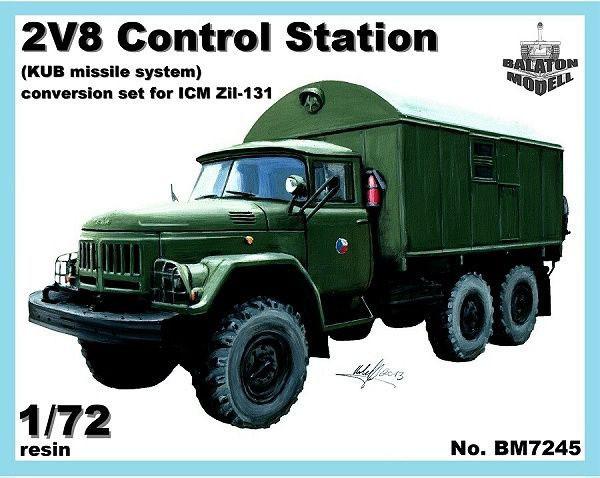 BM7245   Конверсионный набор KUNG-1 (будка) для модели ЗИЛ-131           KUNG-1 shelter for Zil-131 kit (thumb8926)