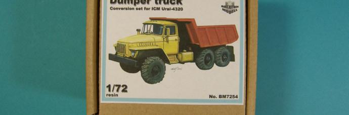 BM7254   Самосвал Урал конверсионный набор для модели ICM       Dump truck conversion set for ICM Ural kit (thumb8965)
