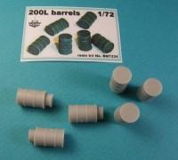 BM7234   Бочки 200 литров (6штук)        200L barrels (x6) (attach1 8875)