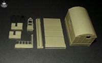 BM7245   Конверсионный набор KUNG-1 (будка) для модели ЗИЛ-131           KUNG-1 shelter for Zil-131 kit (attach1 8926)