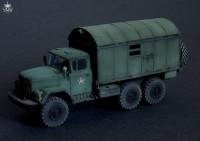 BM7245   Конверсионный набор KUNG-1 (будка) для модели ЗИЛ-131           KUNG-1 shelter for Zil-131 kit (attach2 8926)
