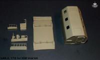 BM7242   Конверсионный набор LAK-2 (будка) для модели УРАЛ-375/4320       LAK-2 shelter for Ural-375/4320 kit (attach1 8921)
