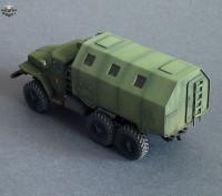 BM7242   Конверсионный набор LAK-2 (будка) для модели УРАЛ-375/4320       LAK-2 shelter for Ural-375/4320 kit (attach2 8921)