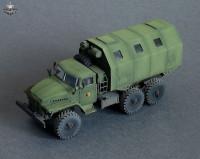 BM7242   Конверсионный набор LAK-2 (будка) для модели УРАЛ-375/4320       LAK-2 shelter for Ural-375/4320 kit (attach3 8921)