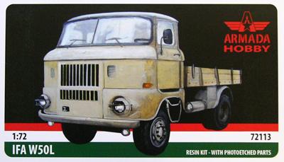 AME72113   IFA W50 Military Truck (thumb9545)