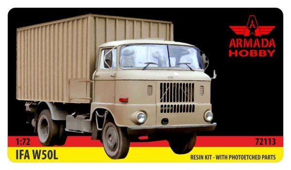 AME72115   IFA W50 Container Truck (thumb9549)