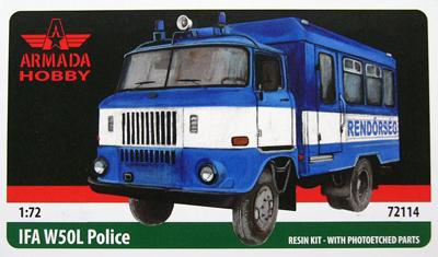 AME72114   IFA W50 Hungarian Police (thumb9547)