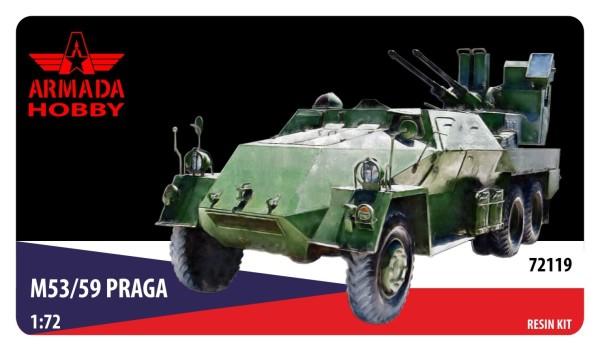 "AME72119   Praga M53/59 30mm AA APC ""Jesterka"" (thumb9558)"
