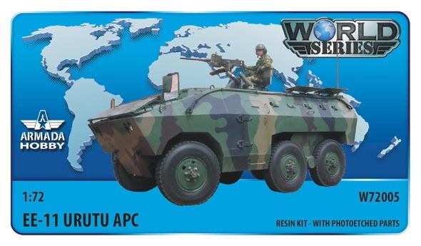 AMW72005   Brazilian 6x6 APC EE-11 URUTU Resin kit w. PE set (thumb9599)