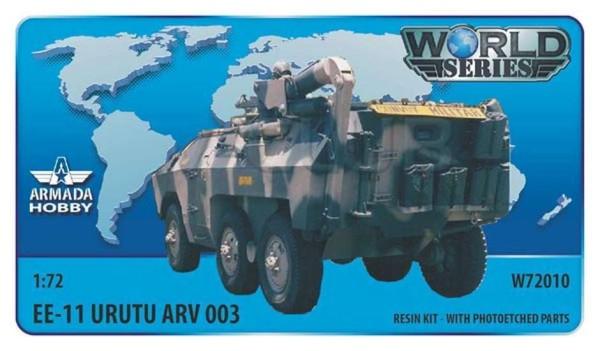 AMW72010    Brazilian 6x6 APC EE-11 URUTU Armoured Recovery Vehicle Resin kit w. PE set (thumb9609)
