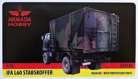 AME72132   IFA L60 Stabskontainer Resin kit w. PE set (thumb9573)