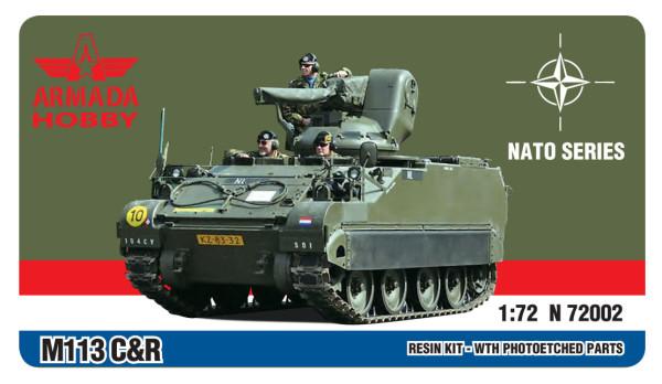 AMN72002   M113 C&R APC HOLLAND Resin kit w. PE set (thumb9581)