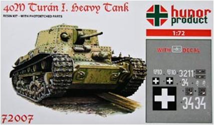 """HP72007   40M Tur?n I. """"Heavy Tank"""" (thumb9790)"""