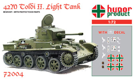 HP72004   42M Toldi II. Light Tank (thumb9784)