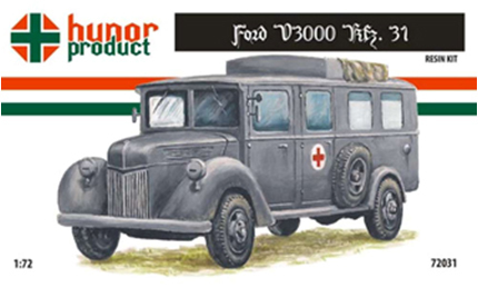 HP72031   43M Ford V3000 Kfz. 31. Ambulance (thumb9828)