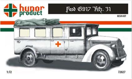 HP72027   41M Ford G917 Kfz. 31. Ambulance (thumb9824)