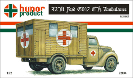 HP72034   42M Ford G917 E.K. Ambulance (Front Vers.) (thumb9832)