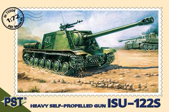 PST72006   ИСУ-122С        JSU-122S Heavy SPG (thumb10042)