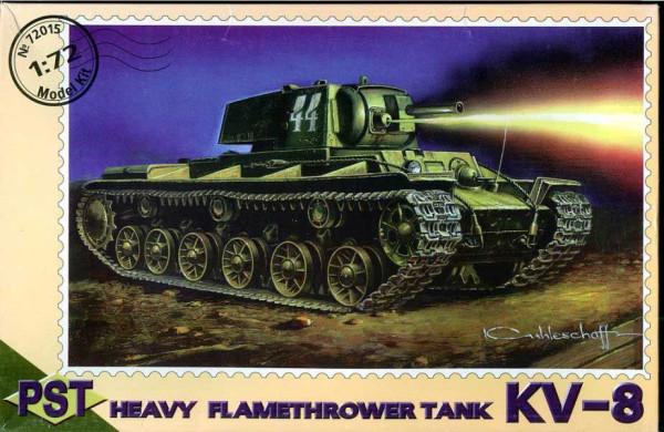 PST72015   КВ-8         KV-8 Heavy Flame Thrower (thumb10058)