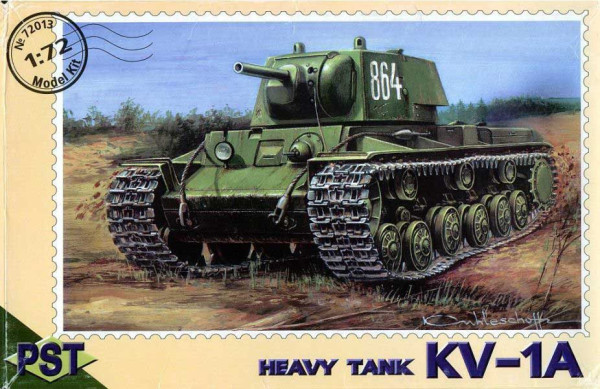 PST72013   КВ-1а         KV-1A Heavy tank (thumb10054)