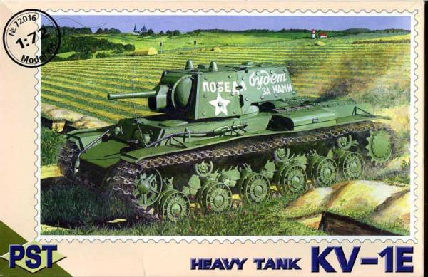 PST72016   КВ-1э          KV-1E Heavy Tank (thumb10060)