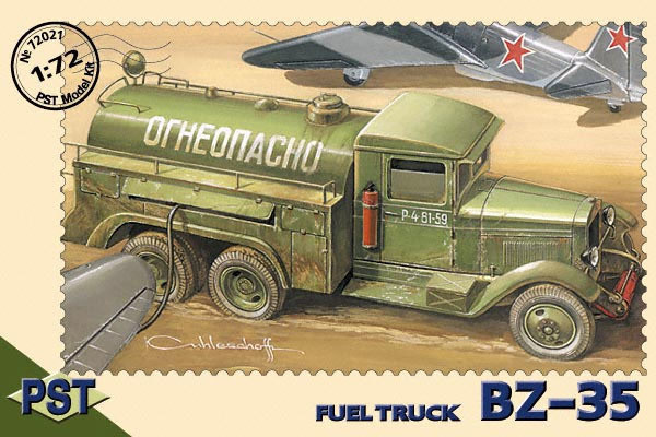 PST72021   БЗ-35           BZ-35 Fuel Truck (thumb10068)