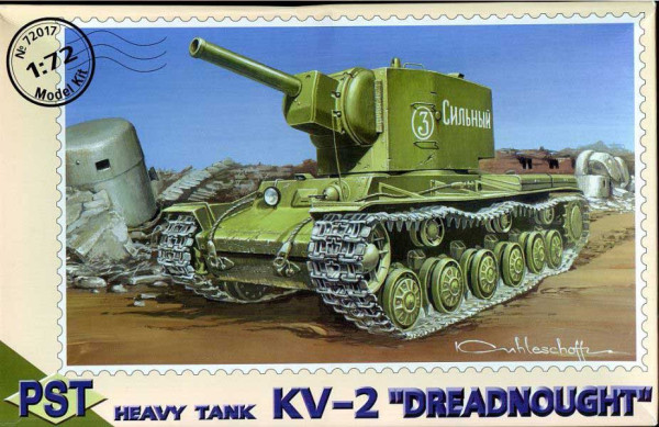 "PST72017   КВ-2         KV-2 ""Dreadnought"" Heavy tank (thumb10062)"