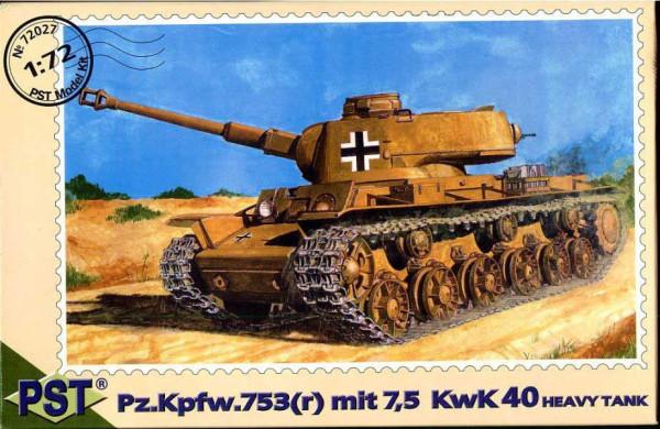 PST72027   Pz.Kpfw.753( r )КwК L/43 (thumb10080)