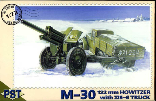 PST72030   М-30/ЗиС-6         M30 122mm Howitzer with Zis-6 Truck (thumb10086)