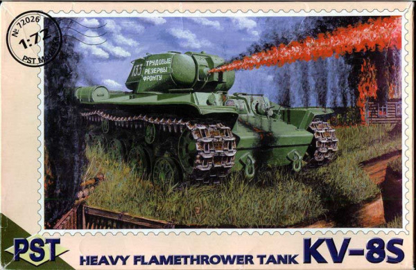 PST72026   КВ-8С          KV-8S Heavy Flamethrower Tank (thumb10078)