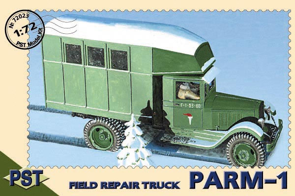 "PST72023   ПАРМ-1         Zis-5 ""Parm-1"" Field Repair truck (thumb10072)"